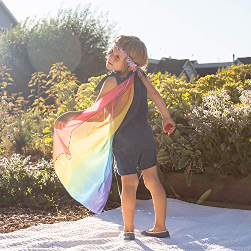 Sarah's Silks - Rainbow Veil, 100% Real Silk, 30-Inch Long 22-Inch Wide Flowing Silk, 20-Inch Wide S - http://coolthings.us