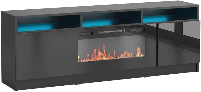Meble Furniture Reno 05 Electric Fireplace Modern 63