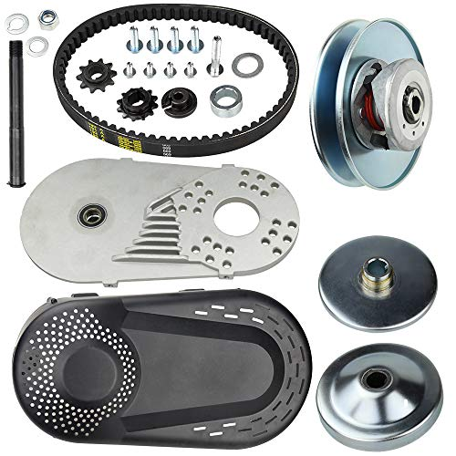 Torque Converter Go Kart Clutch 3/4 inch 10T 40/41 & 12T 35 Chain Replace for Manco Comet TAV2 Mini Bike, 30 Series by MINGSUO
