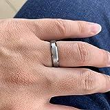 iTungsten 4mm Tungsten Carbide Wedding Bands