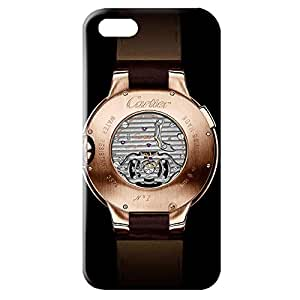 Cartier Watch Back Cover For Iphone 5/5s 3D Hard Plastic Case