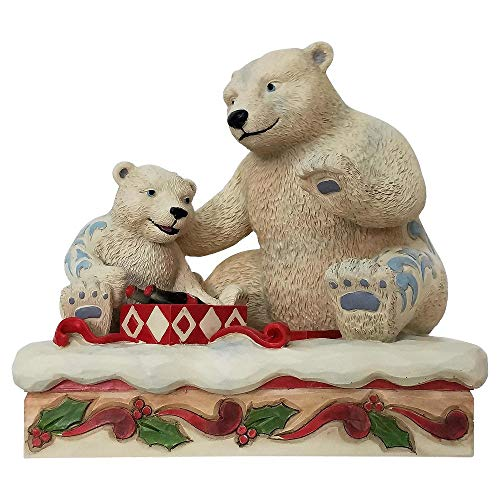 Enesco Coca-Cola by Jim Shore Mama and Baby Polar Bears (Shore Bears)