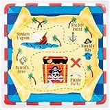 Pirate's Treasure Dessert Plates, 8ct