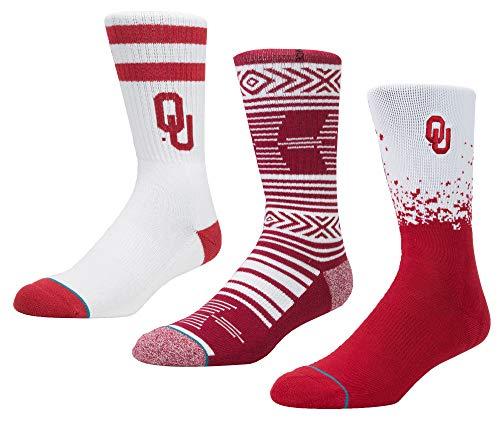 Stance Men's NCAA Sock Bundles (Oklahoma)