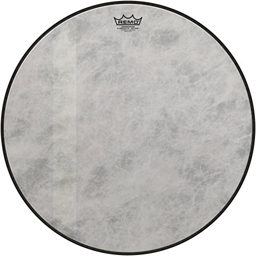 - Remo P3-1522-FD-FLT-U Power stroke P3 Felt Tone Fiberskyn Diplomat, Bass Drumhead, 22