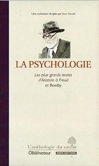 Anthologie du savoir : La psychologie par  L'Obs