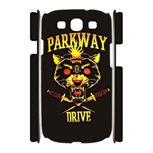 Samsung Galaxy S3 I9300(3D) Phone Case for Classic theme Parkway Drive pattern design GCTPKDV881124