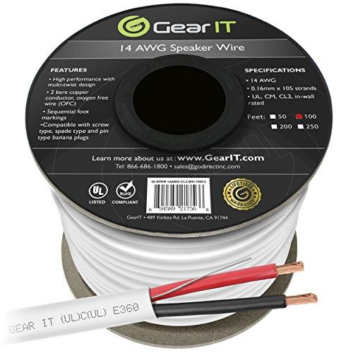 inwall speaker wire - 8