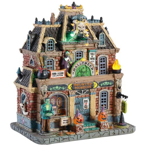 Lemax Halloween Village Haunted Museum #85304]()