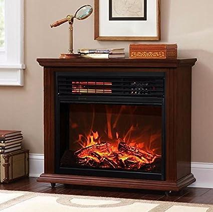 Amazon com: Electric Fireplace Firebox Embedded Insert