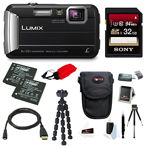 Panasonic DMC TS30 Digital Camera Deluxe