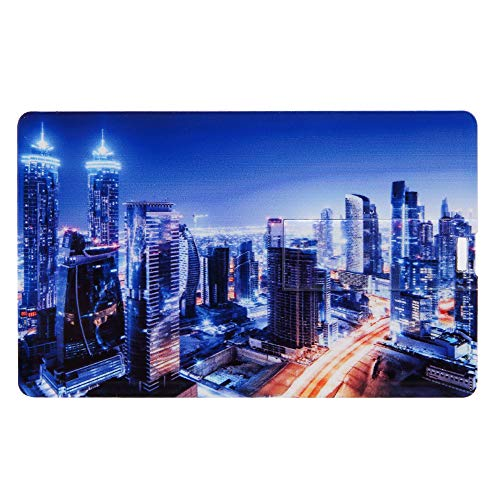 - Credit Card USB2.0 Flash Drive 16 GB (Color-3)