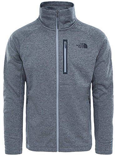 Gris Canyonlands Face Hombre M Zip Full The North Camiseta xAq8HPat