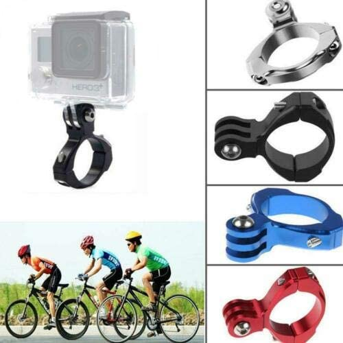 Aoile Metal O Shaped Bicycle Handlebar Mount Bracket for Camera