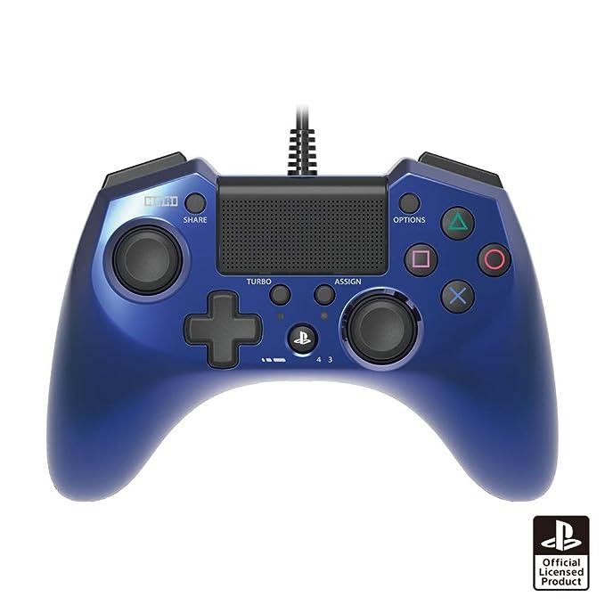 Hori Pad 4 FPS Plus Wired Controller Gamepad para PS4 PS3 Azul: Amazon.es: Videojuegos