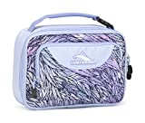 High Sierra Single Compartment Lunch Bag, Feather Spectre/Powder Blue