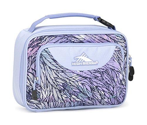 High Sierra Single Compartment Lunch Bag, Feather Spectre/Powder Blue (Supply Sierra)