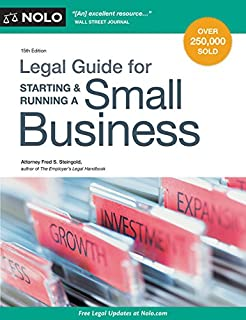 Book Cover: Legal Guide for Starting & Running a Small Business