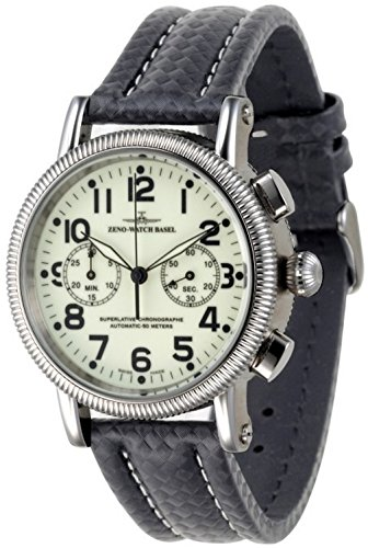 Zeno-Watch Mens Watch - Nostalgia Lumi Chronograph 2030 - 98082-s9