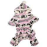 #6: Sumen Pet Dog Warm Clothes Puppy Jumpsuit Hoodie Coat