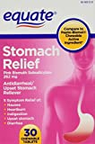 Equate Stomach Relief, Pink Bismuth, 30 Chewable T...
