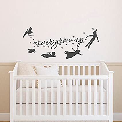 Amazon.com: Sold by A Good Decals USA Peter Pan Wall Decal ...