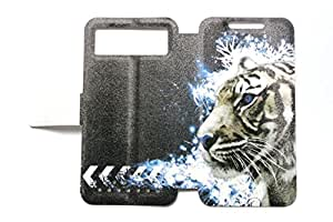 Universal Phone Cover Case for Alcatel Idol 2 Mini S 6036y Case Tiger