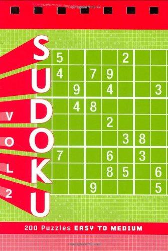 Sudoku Vol Puzzle Pad Medium
