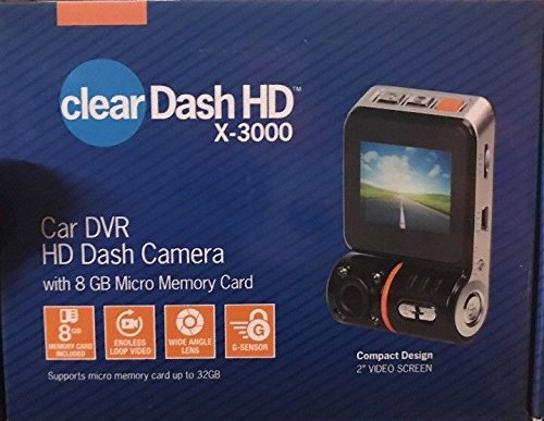 Tristar Clear Dash HD X3000 – Has Motion Stabilizer