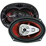 BOSS Audio CH6940 500 Watt (Per Pair), 6 x 9 Inch, Full Range, 4 Way Car Speakers (Sold in Pairs)