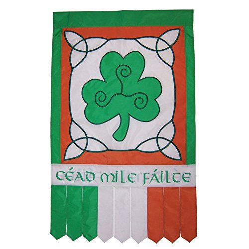- In the Breeze Irish Welcome House Banner Tails
