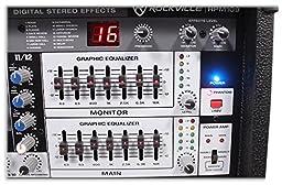 Rockville RPM109 12-Ch 4800w Powered Mixer + (4) 10\