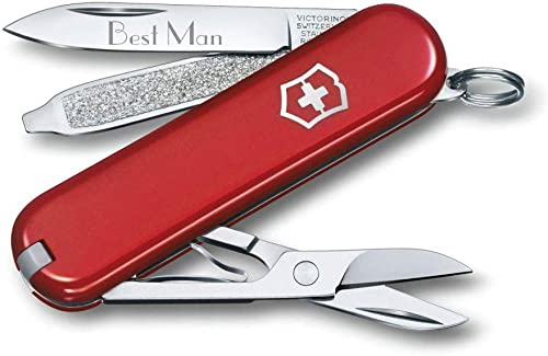 Visol Personalized Swiss Army Knife with Free Engraving