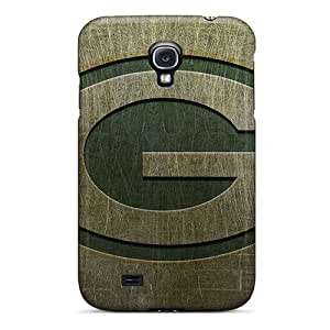 ErleneRobinson Samsung Galaxy S4 Protective Hard Cell-phone Case Provide Private Custom Stylish Green Bay Packers Image [SZt3282zTOO]