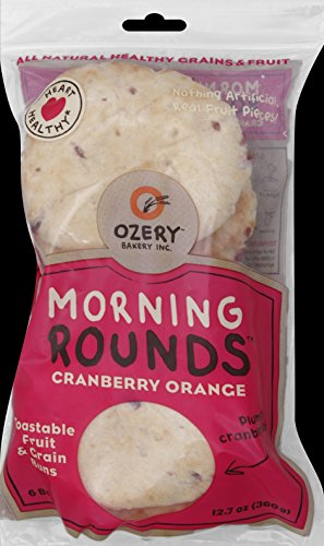 OZERY BAKERY Morning Round Pita Bread, Cranberry Orange, 12.7 Ounce (Pack of - Are What Rounds