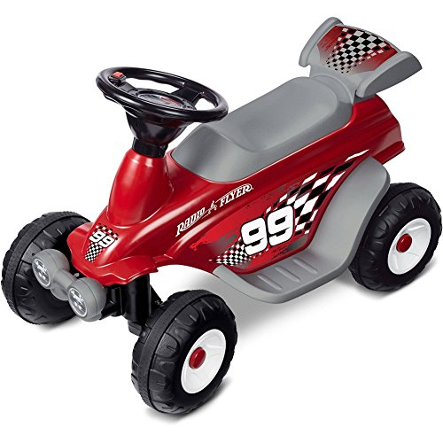Moto Racer - Radio Flyer Battery Powered Moto Racer Ride On, Red