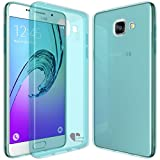 Samsung Galaxy A5(2016) case,Love Ying [Crystal Clear] Ultra[Slim Thin][Anti-Scratches]Flexible TPU Gel Rubber Soft Skin Silicone Protective Case Cover for Samsung Galaxy A5(2016)-Mint