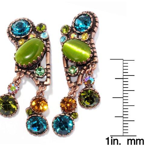 Jellybean Jazz Clip Earrings
