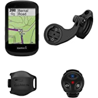 Garmin Edge GPS computadora de Ciclismo, Paquete de Bicicleta de Montaña, Una Talla, Negro