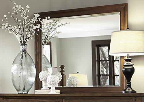 Liberty Furniture Hearthstone Bedroom Mirror, Rustic Oak ()