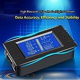 Electronic Tester Test 0-200v 0-10A Digital Battery Tester Тестер Ammeter Voltmeter Power Energy Impedance Resistance Capacity Power Meter
