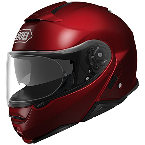 Shoei Neotec II Modular Motorcycle Helmet Wine Red X-Large (More Color and Size Options)