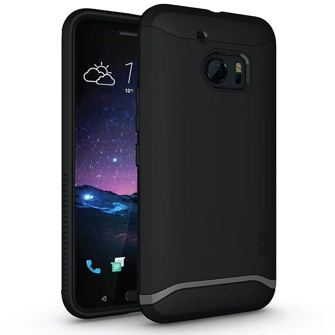 1 opinioni per Tudia Merge Slim-Fit Custodia protettiva a doppio strato per HTC 10 (HTC One