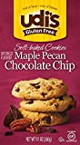 Udi's Gluten Free Soft Baked Cookies, Maple Pecan Chocolate Chip, 9.1 Ounce