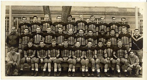 Oak Park and River Forest High School (Illinois) 1930's Yearbook Team Photos Football and Track - Illinois Oaks River