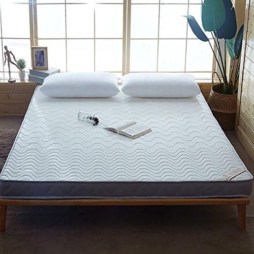 DULPLAY 100% cotton Mattress cover,Thickn Mattress topper,Tatami Flooring Sponge pad Bed tweezers Fast rebound Encryption Mattress pads -White 100x200cm(39x79inch)