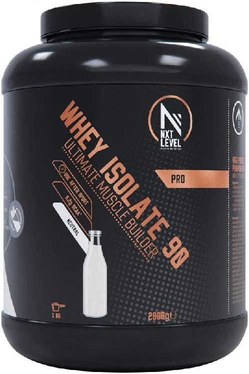 NXT Level Whey Isolate 90 - Neutral 2000 g