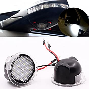 Amazon Com Led Under Side View Mirror Puddle Lights For