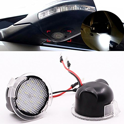 Side Mirror With Led Light - 1
