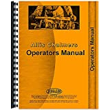 New Operators Manual Made for Allis Chalmers AC Tractor Model I-600